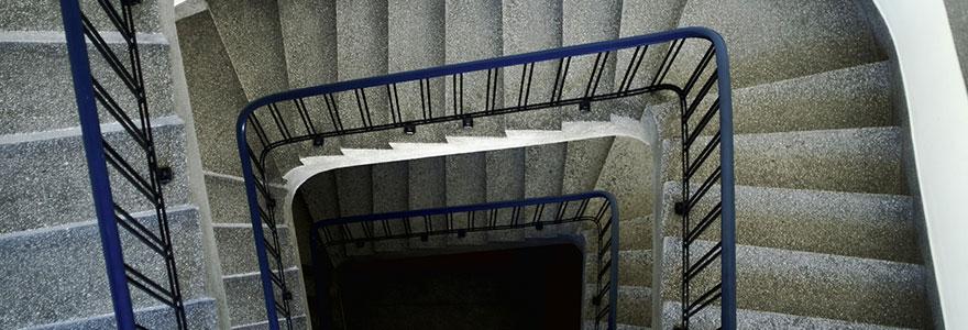 escaliers terrazzo